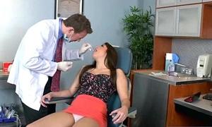 Amazing Sex Between Doctor And Nasty Simmering Patient (nathalie monroe) clip-22
