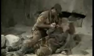 Rapest army man shagging village teen girl.