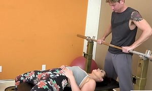 Cheating Wife Fucked by The brush Gym Trainer