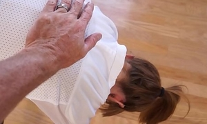 Tiny Teen Stepdaughter Miley Cole