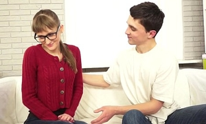 She Is Nerdy - Nailed redtube Christie B xvideos a enjoyable youporn book teen-porn