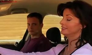 Uninhibited mom fucks with 18-year old guy (Movie sex scene)