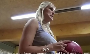 Czech Sexy Teen Amateur Succeed in Fucked FOr Cash In Public 08