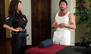 Bigtitted police tot cocksucking masseur
