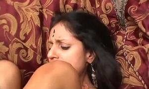HORNY INDIAN MILF SUCKS AND FUCKS YOUR Bushwa POV