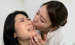 Japanese lesbian erotic spitting knead polyclinic Subtitled