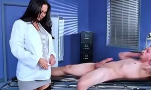 Sex Tape With Morose Dilute And Hot Patient (Ava Addams) video-06