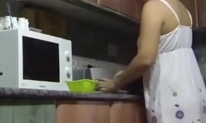 The Pamela'_s kitchen is a horny place to fuck. SAN316