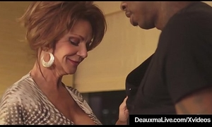 Hot Grown-up Cougar Deauxma Gets Fucked By A Big Stygian Cock!
