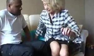 Grandma Gets Ghetto Unconscionable Cock