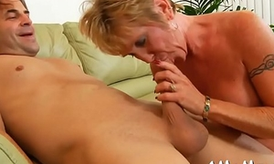 Older chick groans and gets retire from