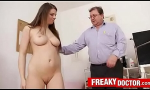 Ancient on touching young medical exam on touching busty chick Mona Lee