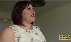 Chubby UK dutiful weakened in rough sex pastime