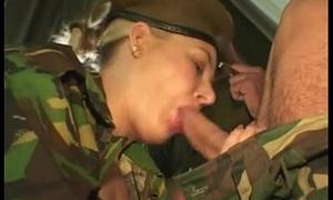 British Arm-twisting MMF Threesome Apropos Anal Sex