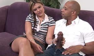 Daughter fucks big thick black learn of