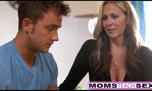 MILF Julia Ann Threeway In all directions from round Step-Son &_ Legal age teenager Creampie