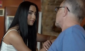 DADDY4K. Cheating on her bf with his horny sky pilot