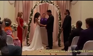 Naughty Bride To Be Kayla Carrera Receives Plowed Apart exotic A Groomsman Right Before Her Conjugal